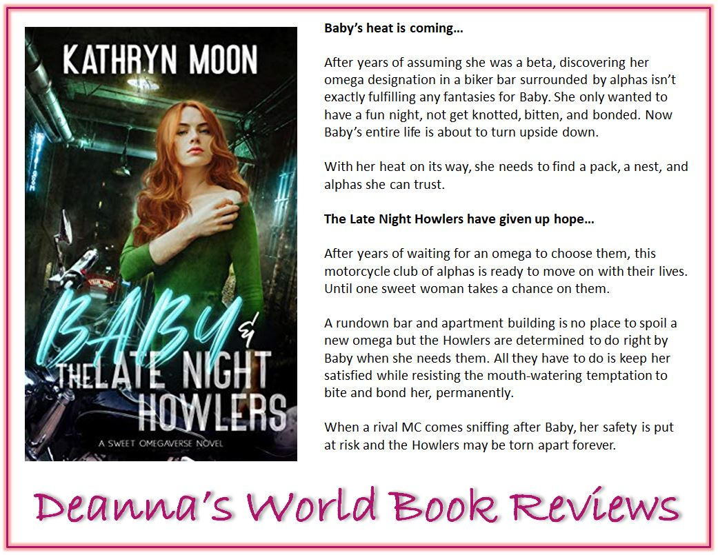 Baby and the Late Night Howlers by Kathryn Moon blurb