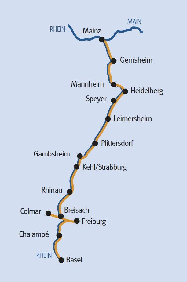 Mainz - Basel - Andante