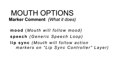 Mouth Option