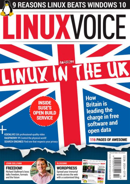 Linux Voice October 2015