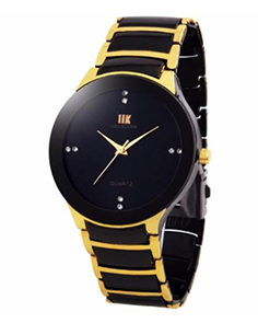 MyCross Analog Gold Round Dial Watch for Men