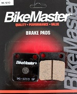 BikeMaster Front Brake Pads H1012 YFM400 Big Bear IRS 4x4 2007 2008 2009 2010