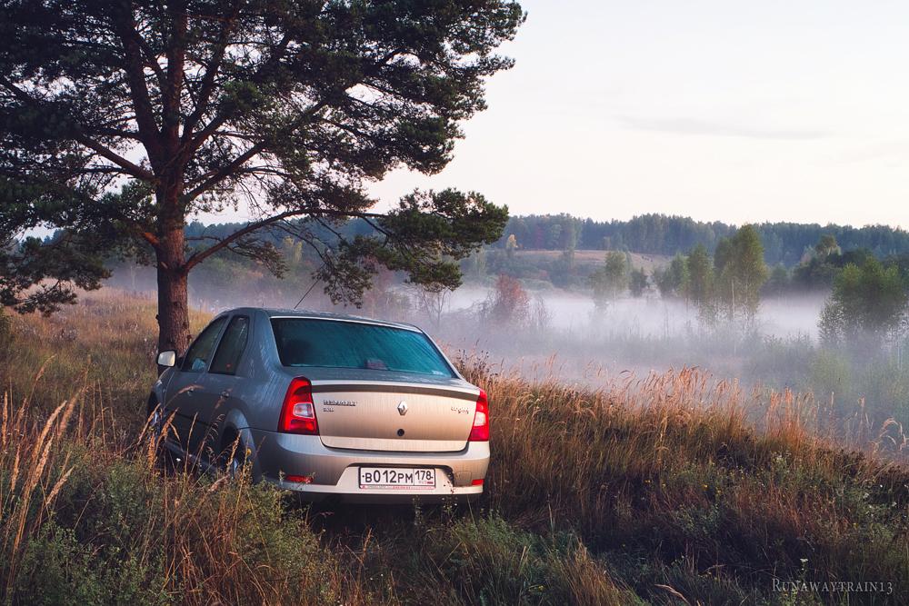 Пушкинские горы рассвет Северная экспедиция Runawaytrain13