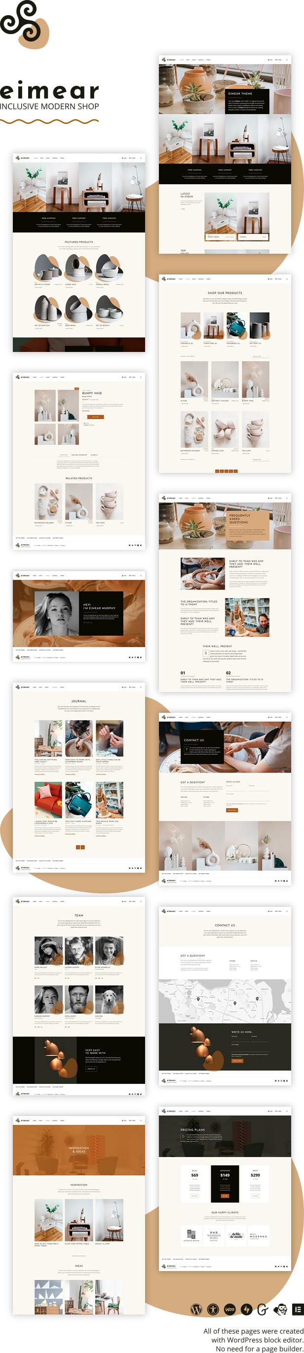 Eimear WordPress theme