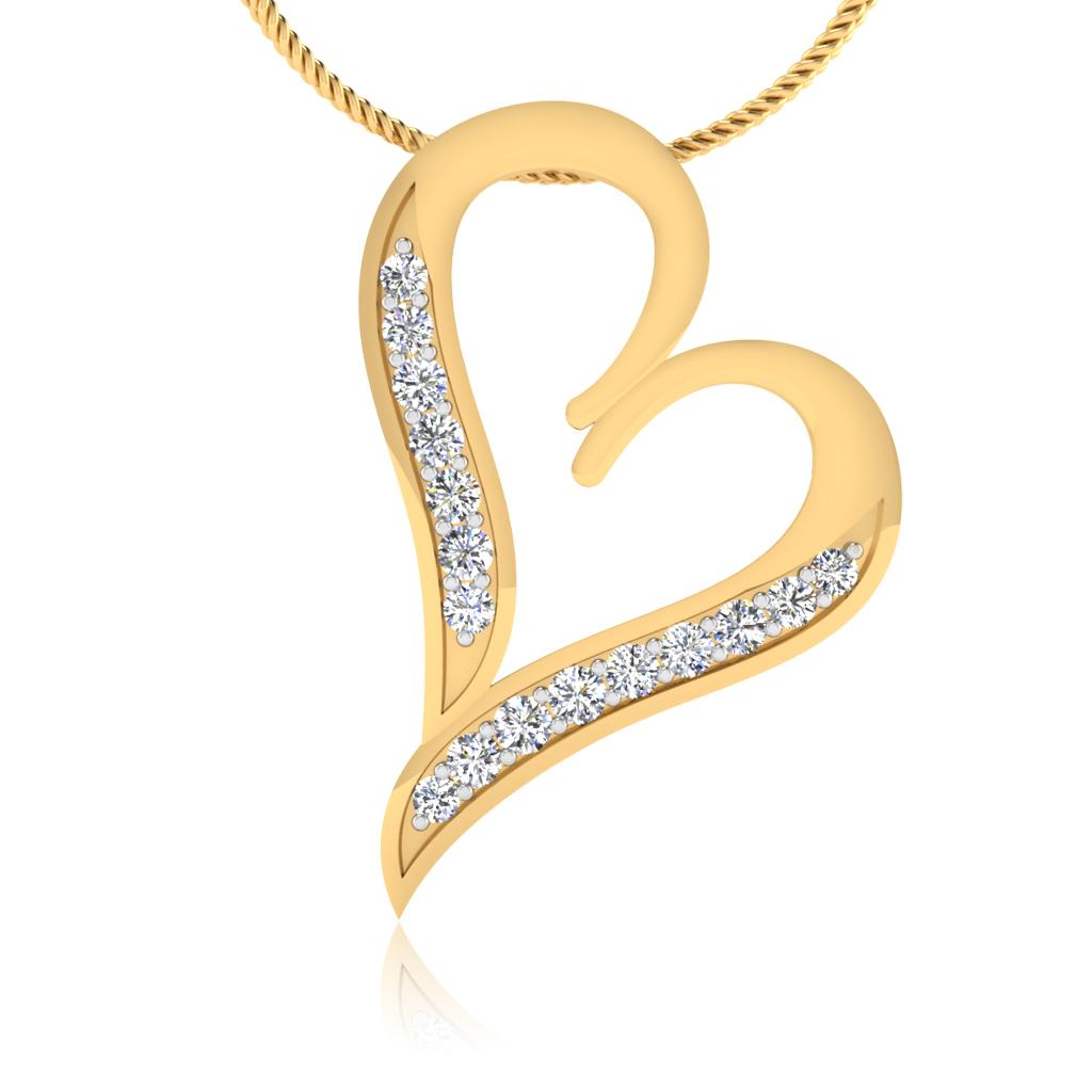 The Leela Diamond Pendant