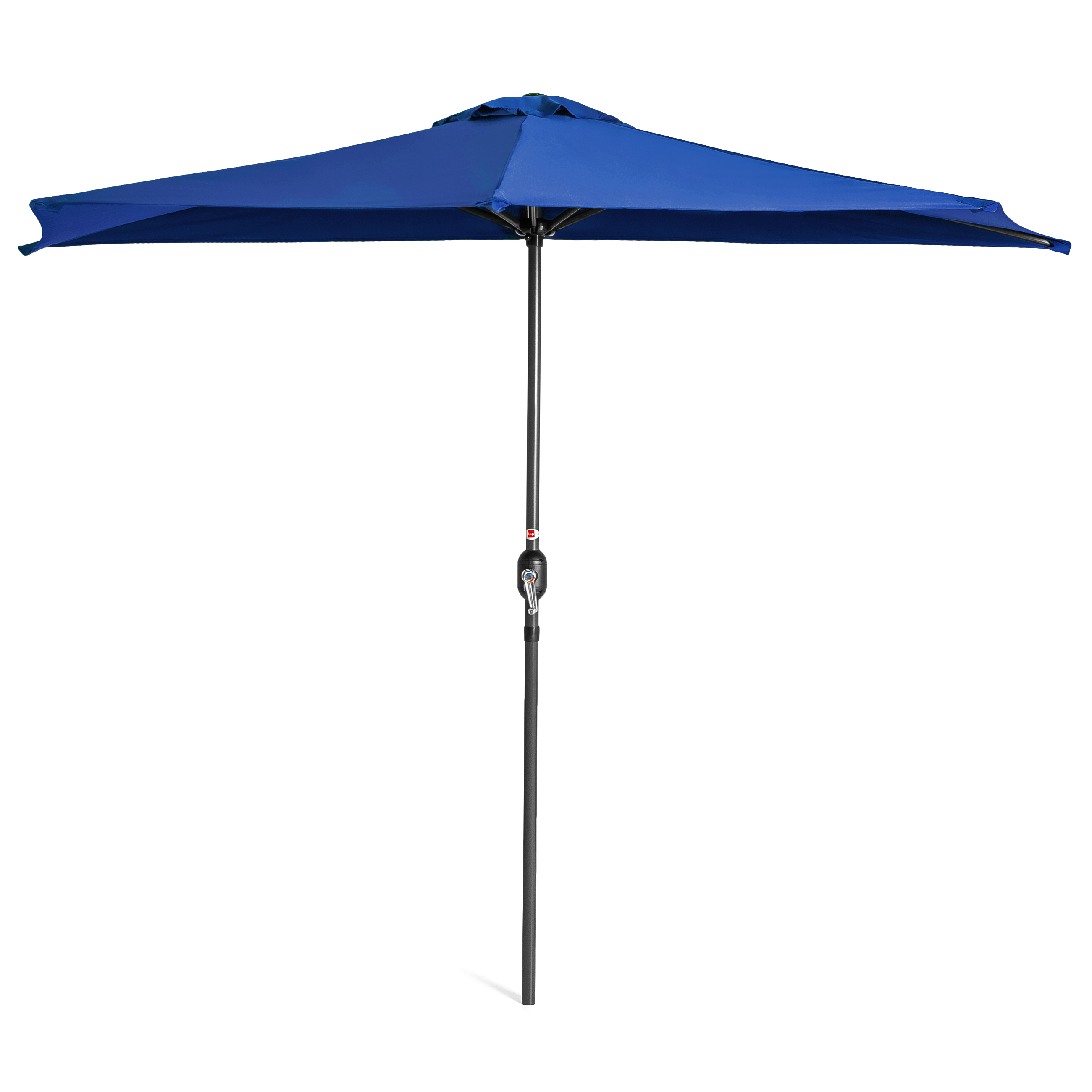 BCP-9ft-Half-Patio-Umbrella-w-Crank-Steel-Frame-UV-amp-Water-Resistant-Fabric thumbnail 9