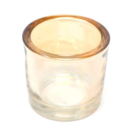 iron candle holder - spare glass cup