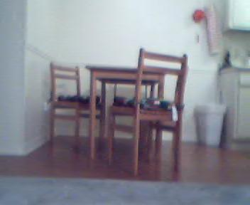 Image: A kitchen table