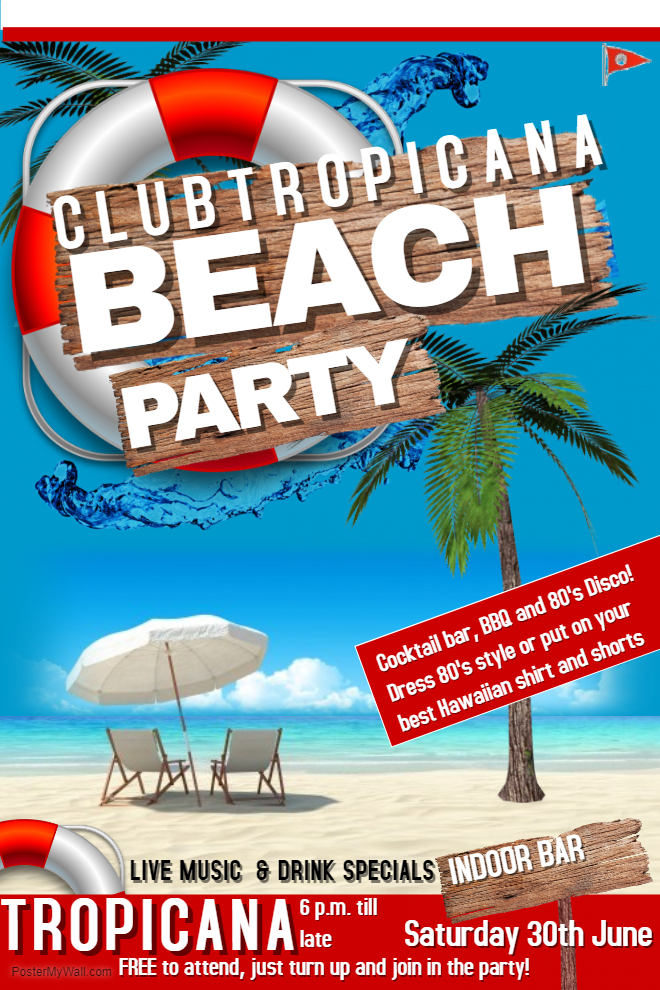Club Tropicana LSC Summer Party 2018