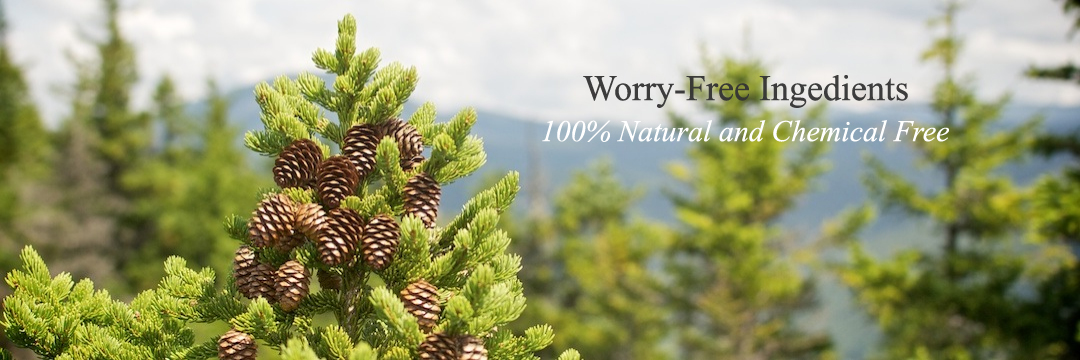 Worry-Free Ingredients 100% Natural & Chemical Free