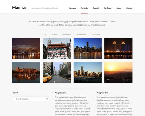 murmur - free theme thang ba