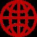 Grafik Weltkugel: Diese Grafik-Datei könnt ihr als Word-, GIMP- und PNG-Datei kostenlos herunterladen.