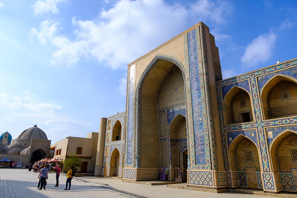 gebouw bukhara