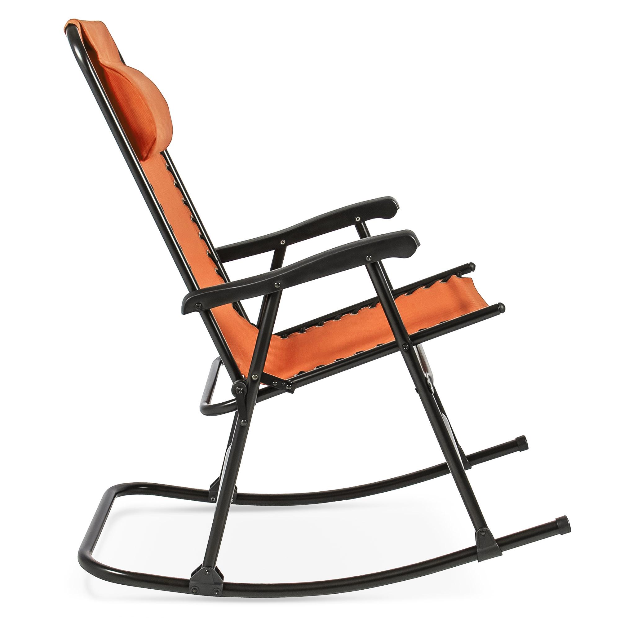 BCP-Foldable-Zero-Gravity-Patio-Rocking-Lounge-Chair thumbnail 52