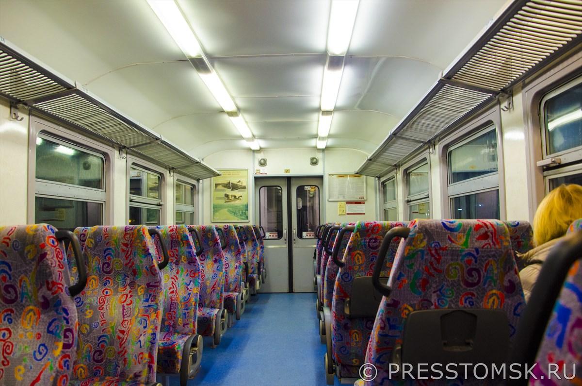 Поезд до Сигулды компании Pasažieru vilciens