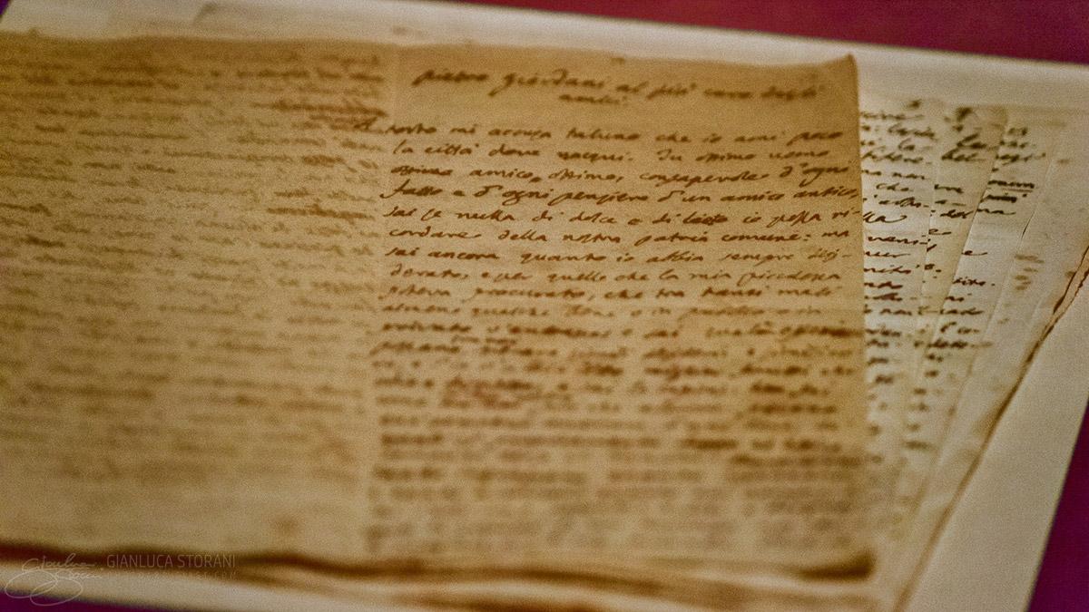 Manoscritto originale del Leopardi - Gianluca Storani Photo Art (ID: 4-7081)