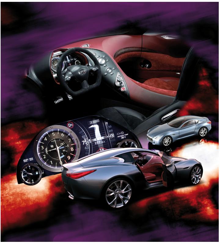 """Le concept """"Essence"""" se caractérise, entre autres, par sa sellerie différenciée entre le conducteur et le passager. Cliquez pour afficher en HD"""