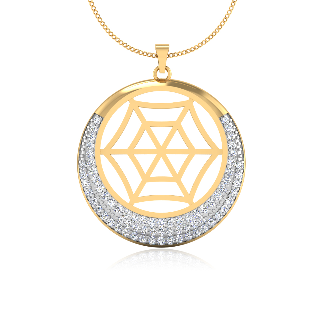 The Yamara Diamond Pendant
