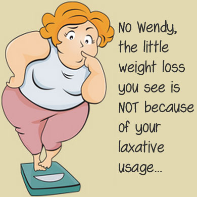 Laxative weight loss