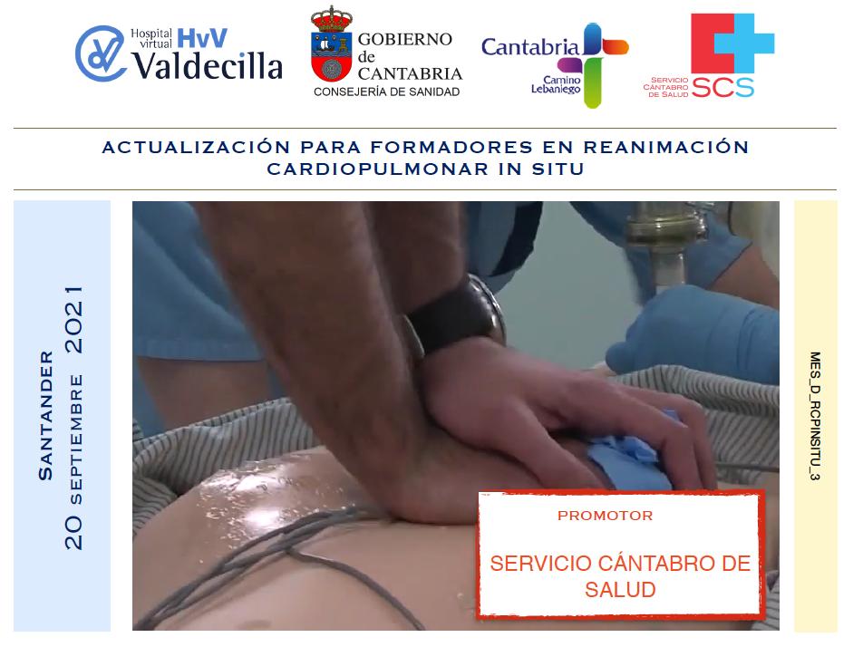 Actualización para formadores en reanimación cardiopulmonar in situ