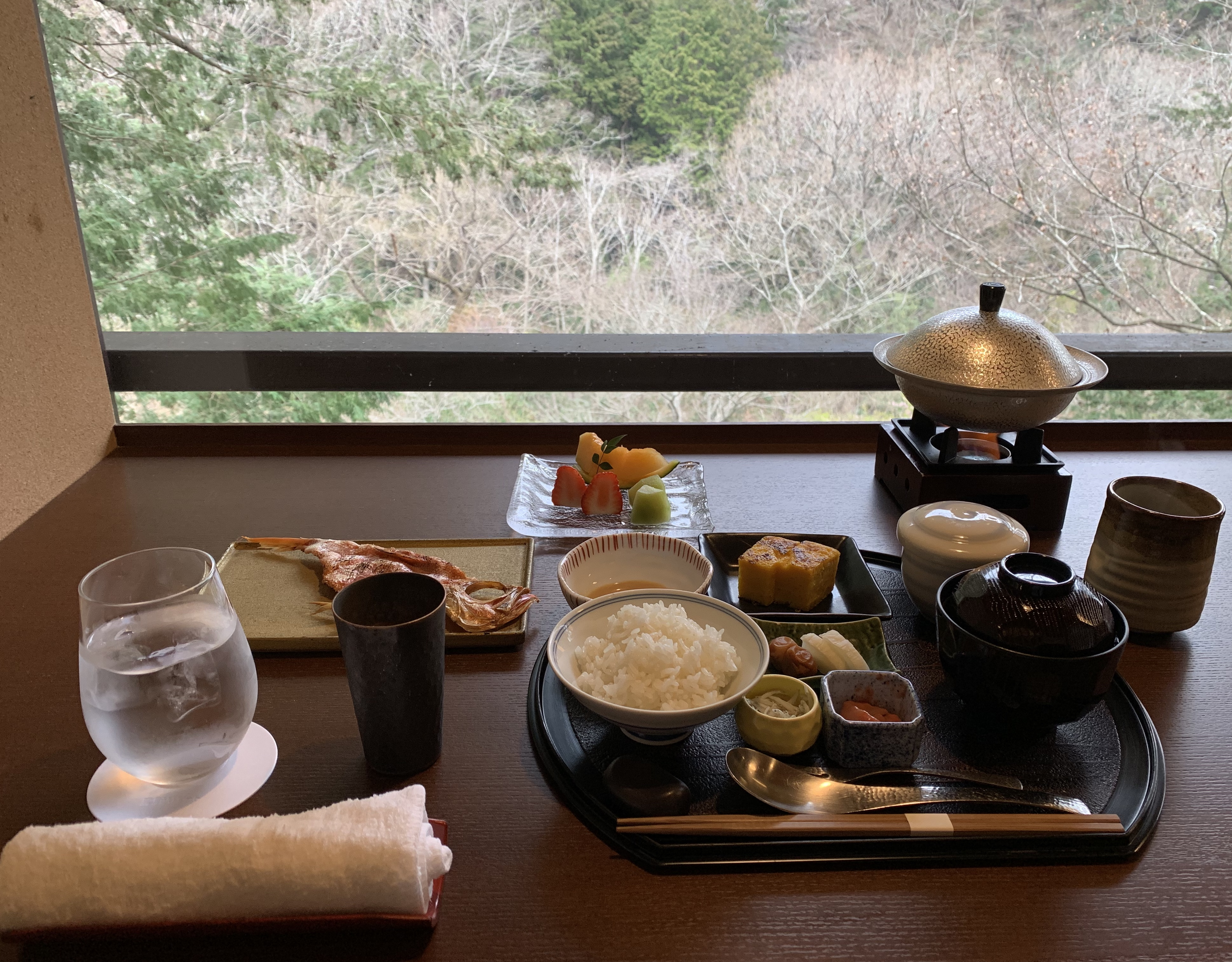 Japanese breakfast spoils you.