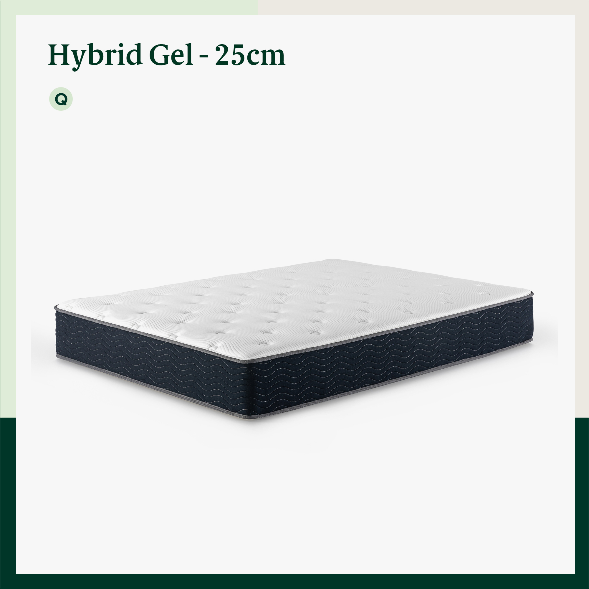 thumbnail 111 - Zinus Mattress Queen Double King Single Bed Memory Foam Pocket Spring Hybrid