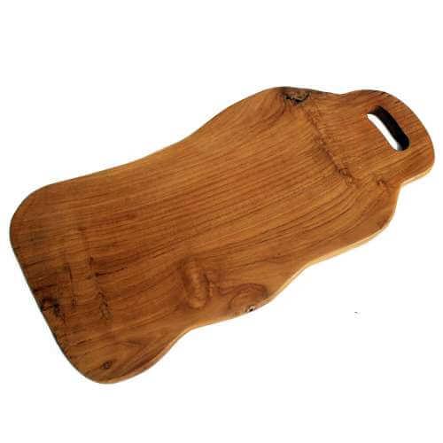 teak chopping boards - waves