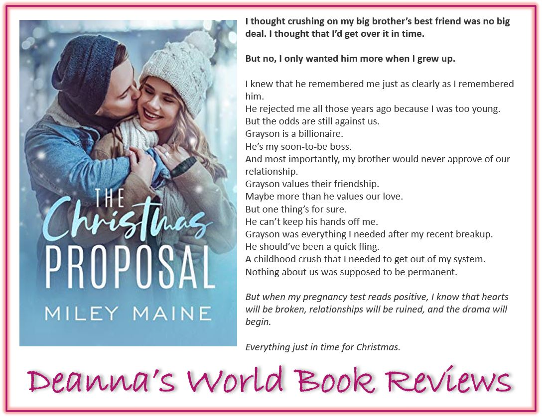 The Christmas Proposal by Miley Maine blurb