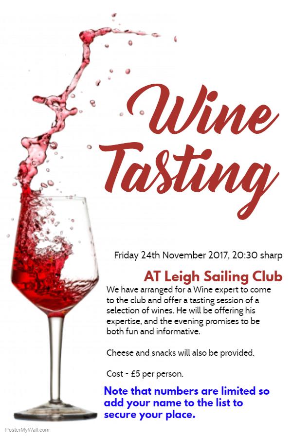 Wine Tasting 2017
