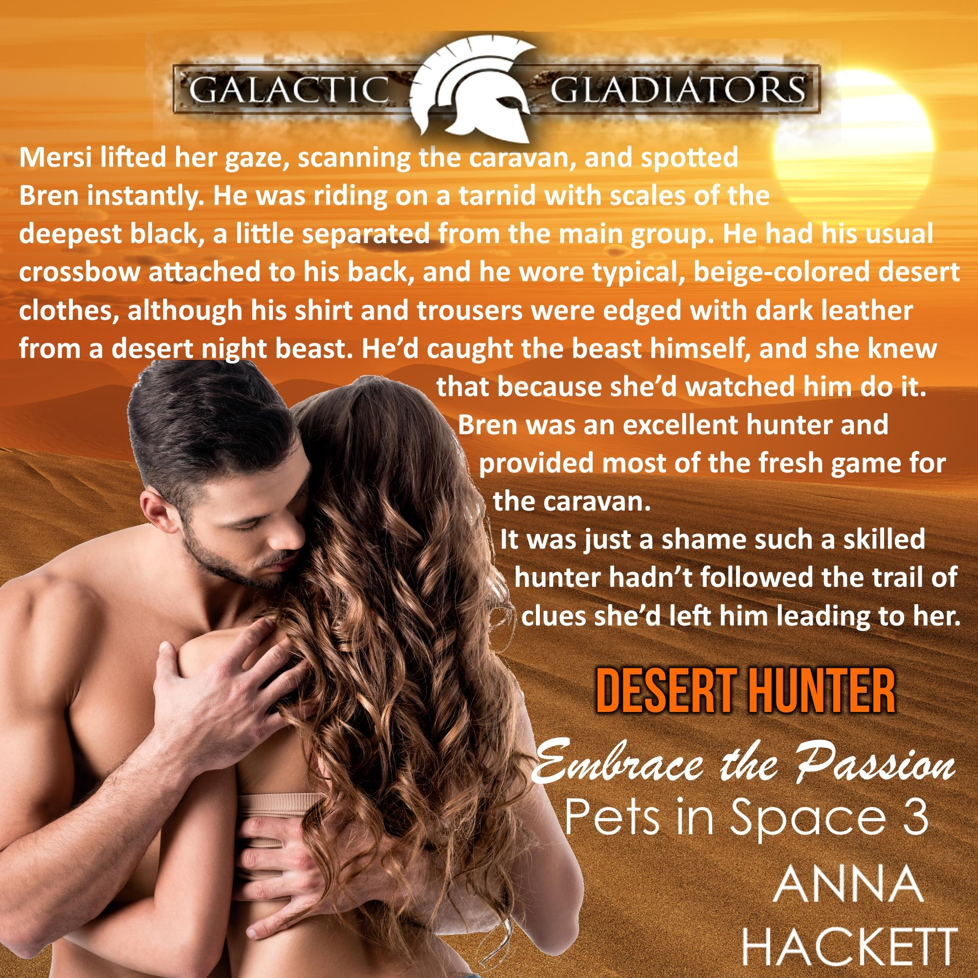 Desert Hunter by Anna Hackett teaser 1