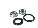 Front Wheel Bearings and Seals Kit Honda PC800 Pacific Coast 1989-1990 and 1994-1998