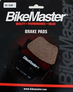 Rear Brake Pads BikeMaster TRX420FPA Rancher AT 4x4 2009 2010 2011 2012 2013
