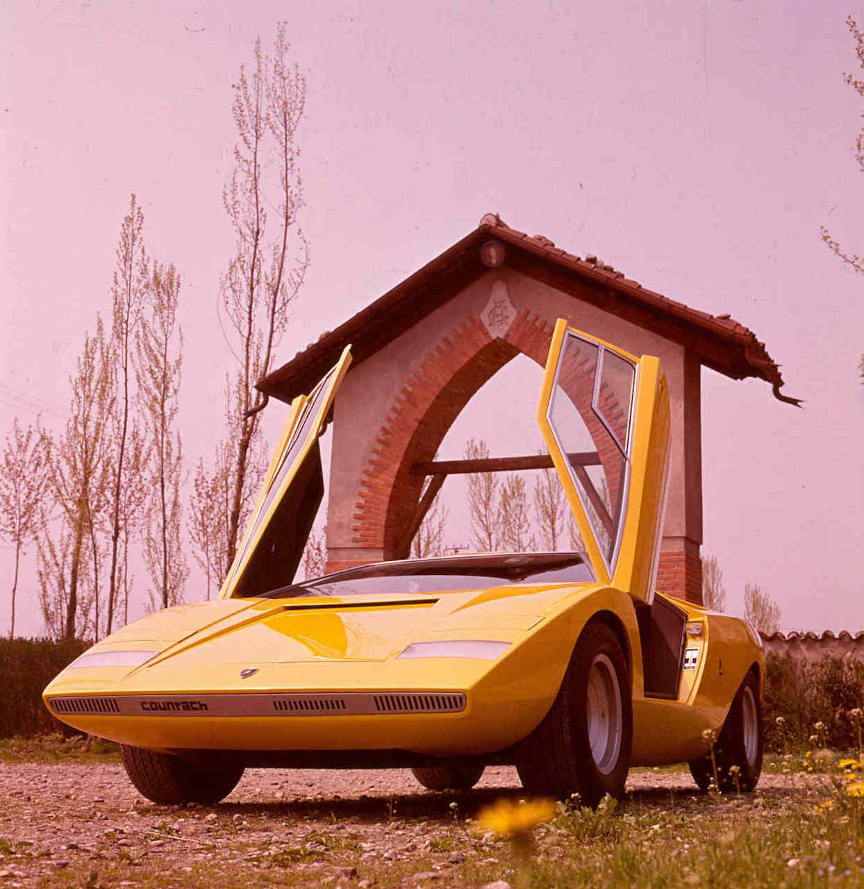 The iconic Lamborghini Countach LP 500 turns 50