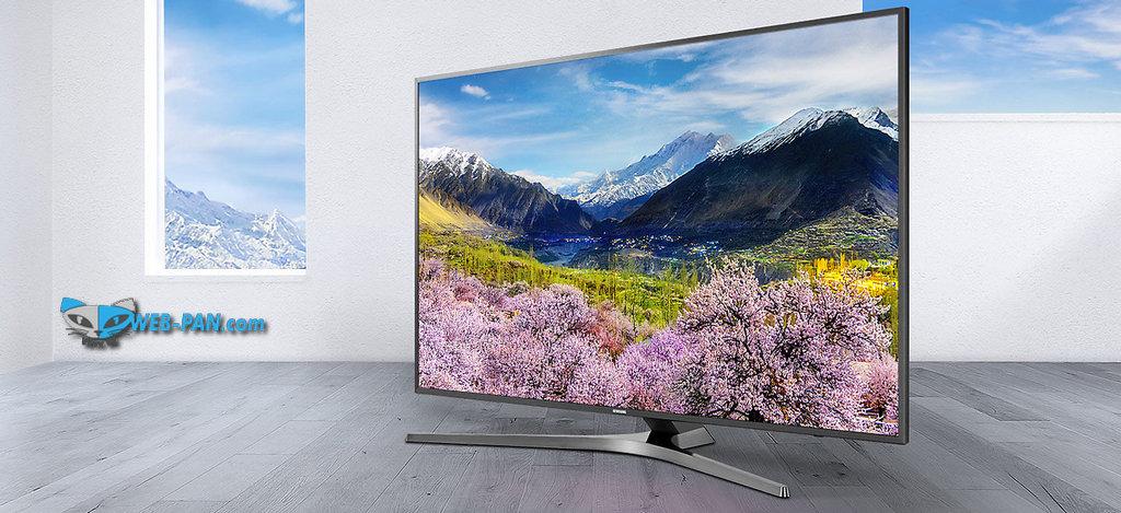 Выбрал себе новый телевизор на стену в кабинете, не прогадал, стильный и большой с металлической рамкой по окантовке - Samsung UE49MU6450U!