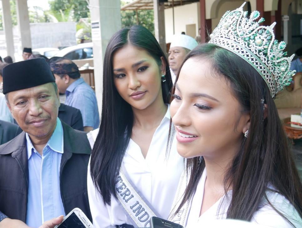 Puteri Indonesia Mendukung Terlaksananya Pemilu 2019 yang aman, damai, dan lancar
