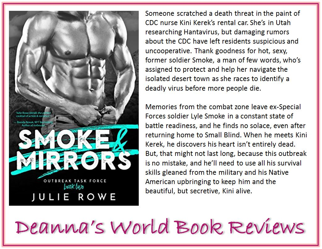 Smoke and Mirrors by Julie Rowe blurb
