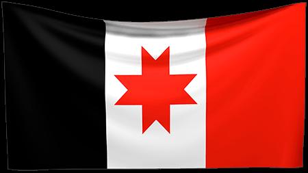 Bandera de la República de Udmurtia