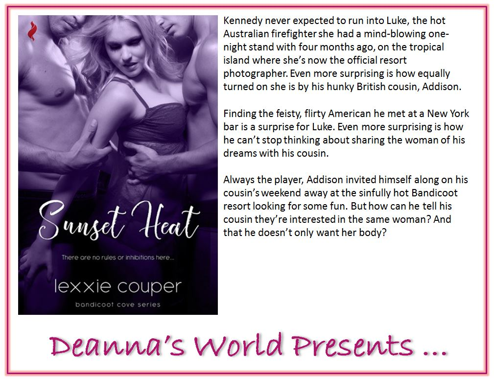 Sunset Heat by Lexxie Couper blurb