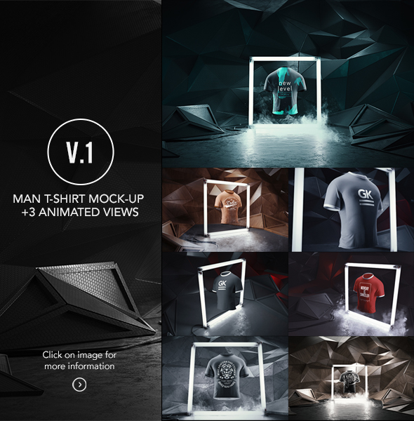 Apparel / Clothing Mock-up Bundle