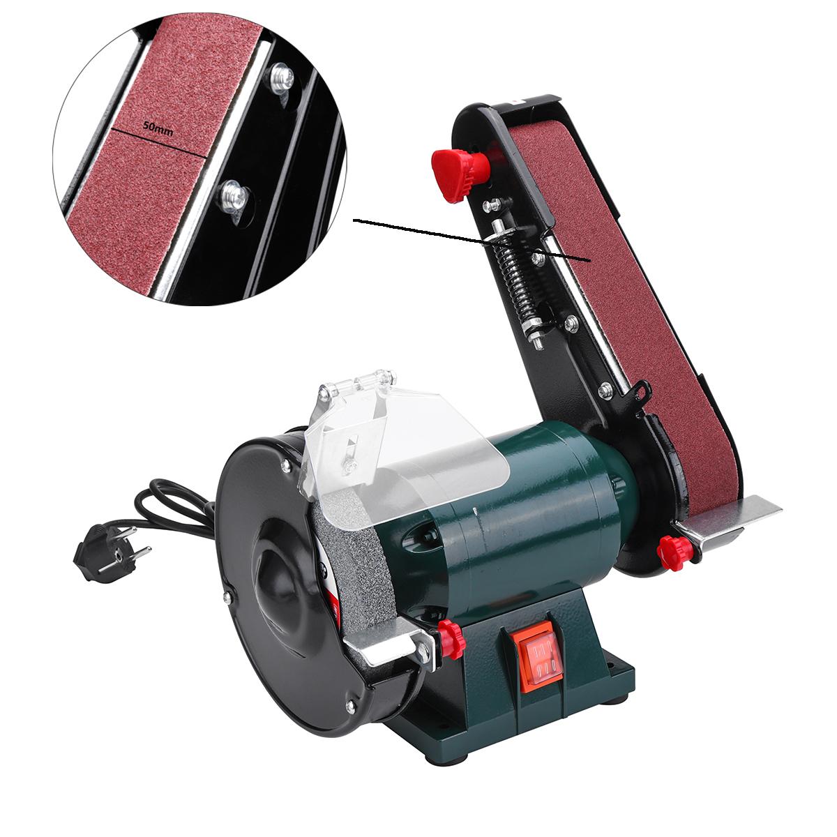 Other Gadgets 6 Inch 150mm Bench Grinder Belt Sander