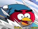 Online igrica Angry Birds Skiing