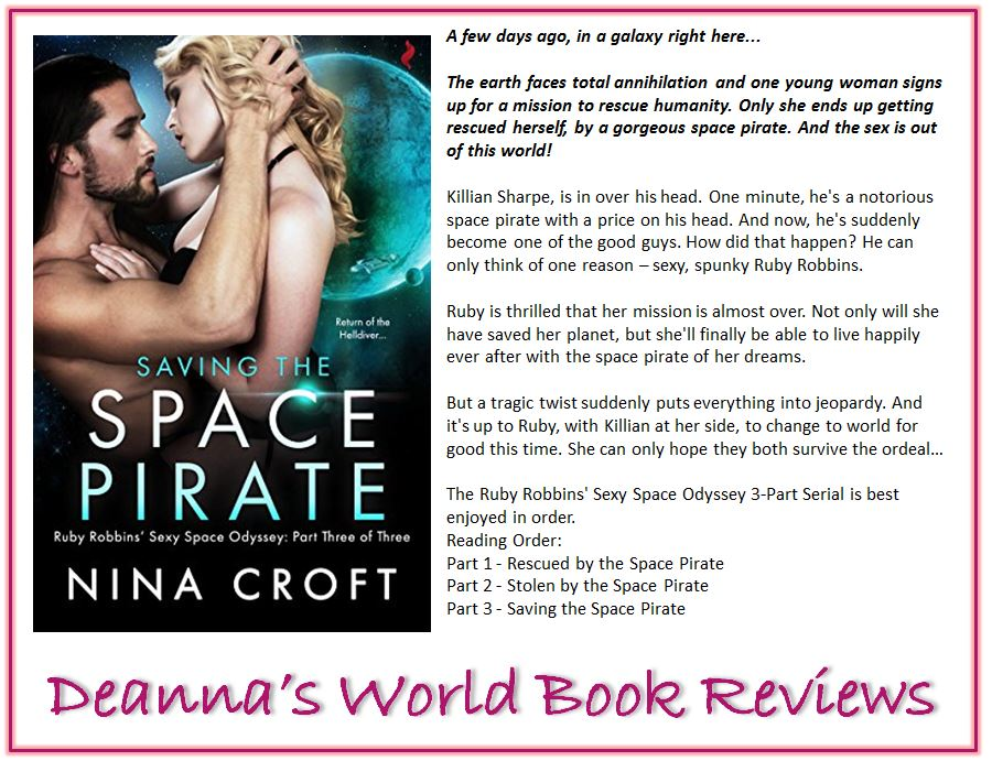 Saving The Space Pirate by Nina Croft blurb