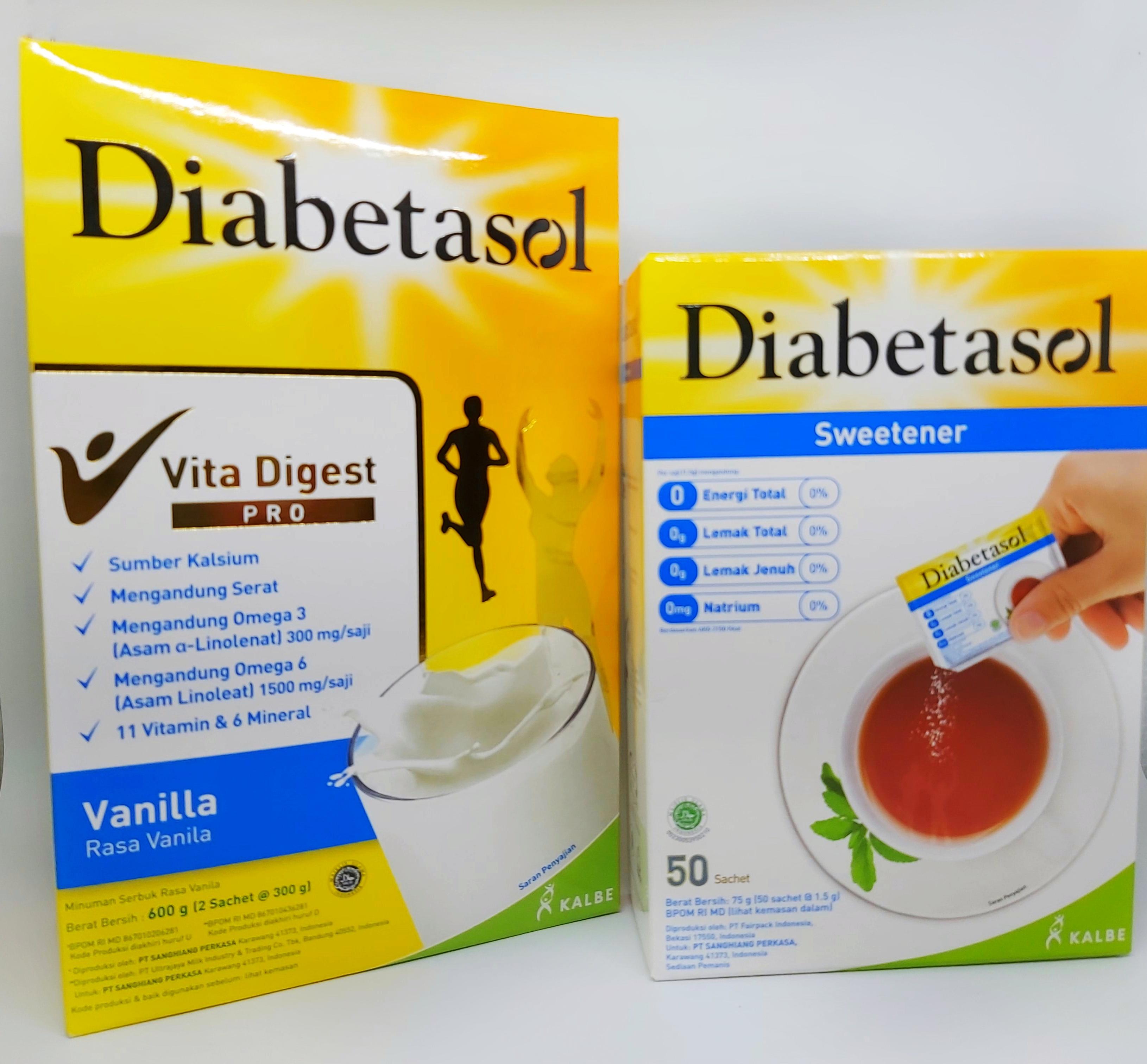 Diabetasol Nutrisi untuk diabetes