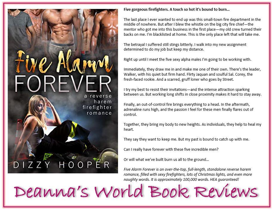 Five Alarm Forever by Dizzy Hooper blurb