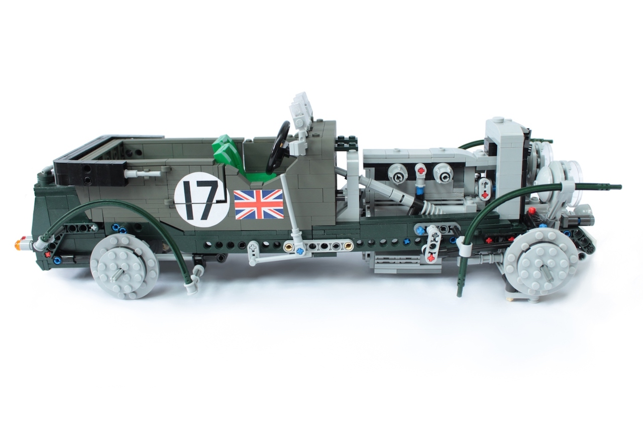 Lego Bentley Blower project needs your votes