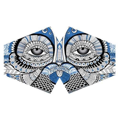 face mask - mystic owl