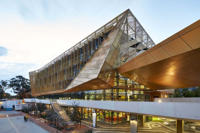 Indigenous Noongar culture meets cutting edge architecture in new Edith Cowan University building