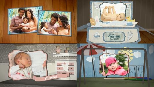 Baby Photo Album or Announcement