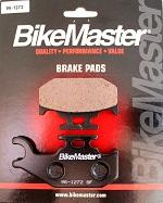 Rear Brake Pads BikeMaster YFM450 Grizzly 4x4 Auto 2007 2008 and 2011 2012