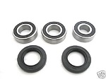 Rear Wheel Bearings and Seals Kit Suzuki RM250 2000-2008
